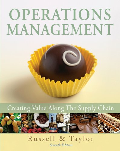Operations Management Creating Value along the Supply Chain 7th 2011 edition cover