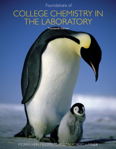 Foundations of College Chemistry  13th 2011 edition cover