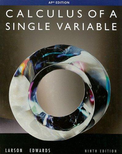 Calculus Single Var AP ED 9E 9th edition cover