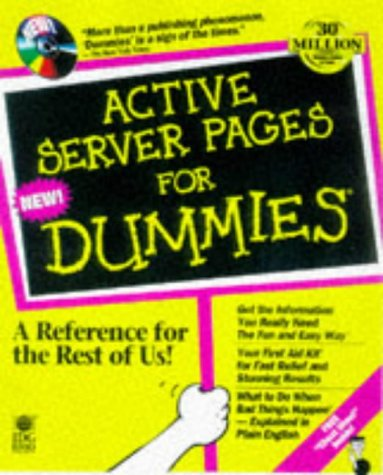 Active Server Pages for Dummies 1st 9780764501906 Front Cover
