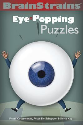 Brainstrains Eye-Popping Puzzles  2004 9781402709906 Front Cover