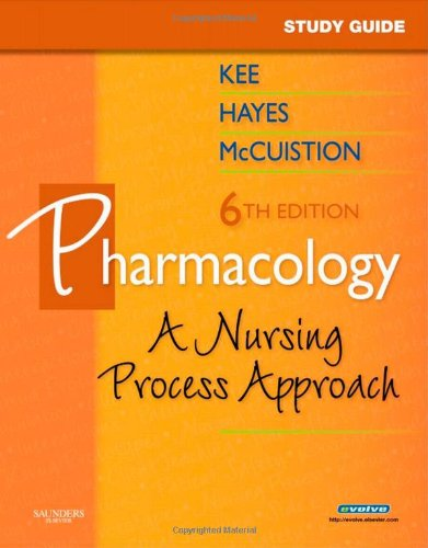 Study Guide for Pharmacology A Nursing Approach 6th edition cover