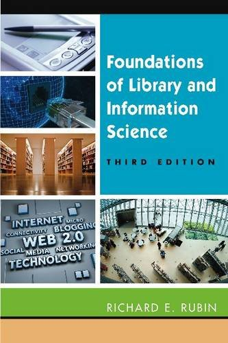 Foundations of Library and Information Science  3rd 2010 edition cover