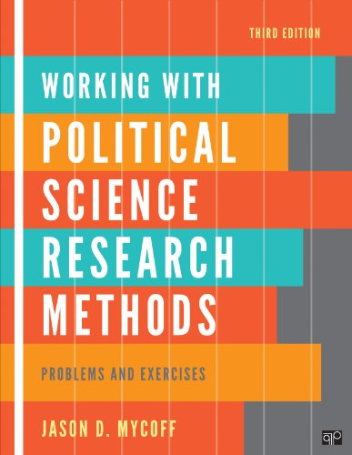 Working with Political Science Research Methods Problem and Exercises 3rd 2012 (Revised) edition cover
