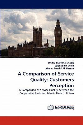 Comparison of Service Quality Customers Perception N/A 9783838379906 Front Cover