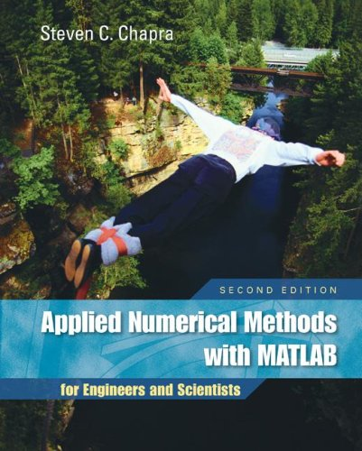 Applied Numerical Methods With MATLAB for Engineers and Scientists 2nd 2008 (Revised) edition cover