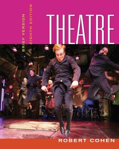 Theatre Brief Version 8th 2008 edition cover