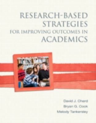 Research-Based Strategies for Improving Outcomes in Academics   2013 edition cover