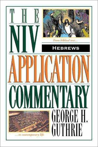 Hebrews   1998 edition cover