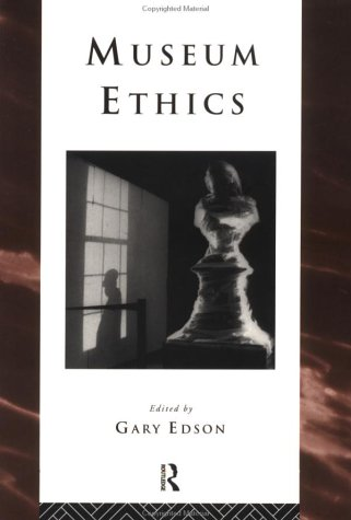 Museum Ethics   1997 edition cover