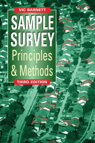 Sample Survey Principles and Methods  3rd 2009 9780470685907 Front Cover