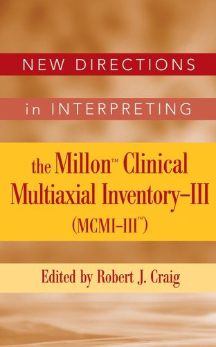 New Directions in Interpreting the Millon Clinical Multiaxial Inventory-III (MCMI-III)   2005 9780471691907 Front Cover