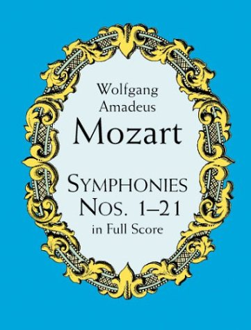 Symphonies Nos. 1-21 in Full Score  Unabridged edition cover