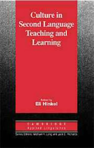 Culture in Second Language Teaching and Learning   1999 edition cover