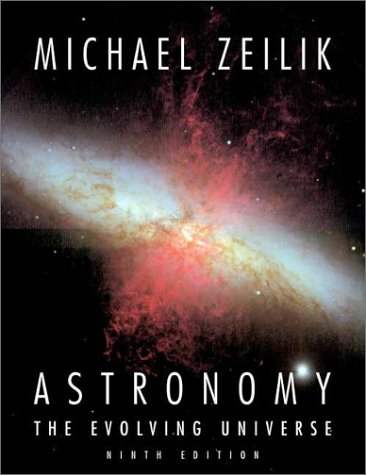 Astronomy The Evolving Universe 9th 2001 (Revised) edition cover