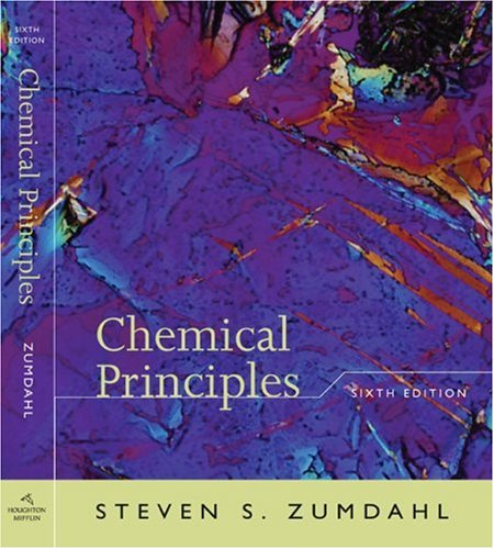 Chemical Principles  6th 2009 edition cover