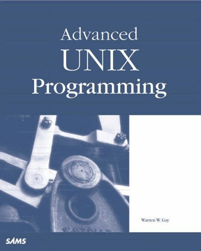 Advanced UNIX Programming   2000 9780672319907 Front Cover