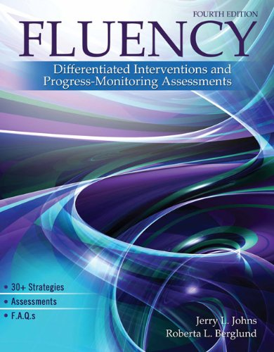 Fluency Differentiated Interventions and Progress-Monitoring Assessments 4th (Revised) 9780757575907 Front Cover