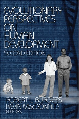 Evolutionary Perspectives on Human Development  2nd 2005 (Revised) edition cover