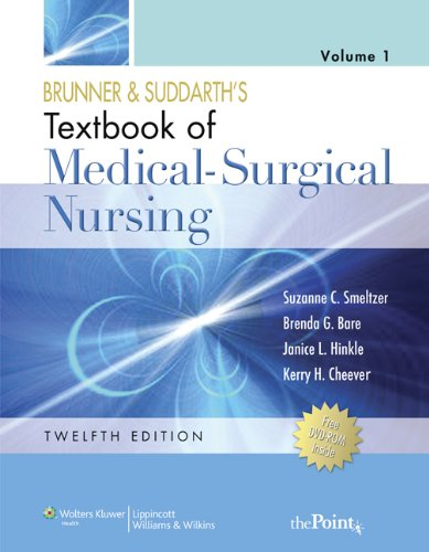 Textbook of Medical-Surgical Nursing  12th 2010 edition cover