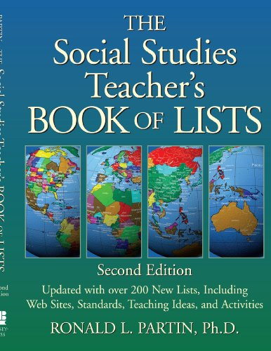 Social Studies Teacher's Book of Lists  2nd 2002 (Revised) 9780787965907 Front Cover