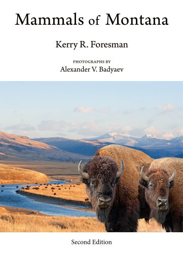Mammals of Montana  2nd 2012 edition cover