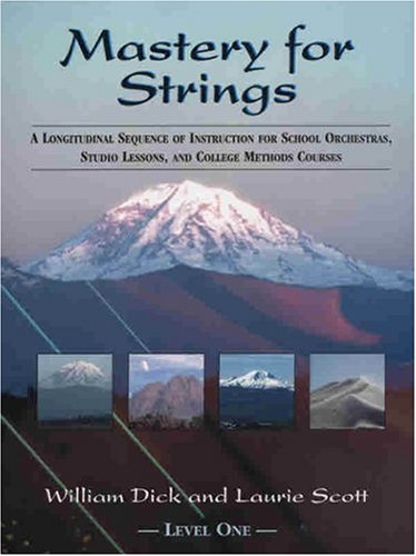 Mastery for Strings 1st edition cover