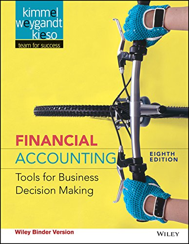 Financial Accounting: Tools for Business Decision Making  2015 9781118953907 Front Cover