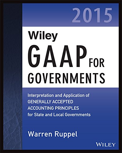 Wiley GAAP for Governments 2015 Interpretation and Application of Generally Accepted Accounting Principles for State and Local Governments  2015 9781118979907 Front Cover
