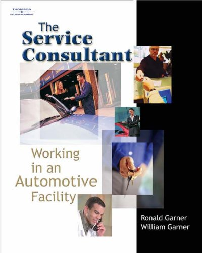 Service Consultant Working in an Automotive Facility  2005 edition cover