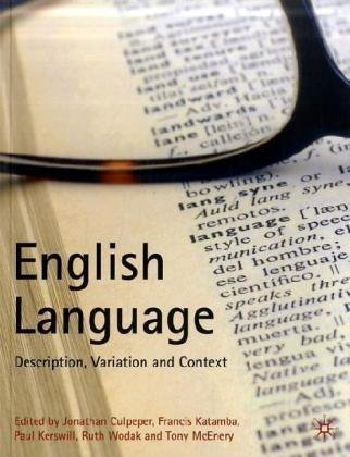 English Language Description, Variation and Context  2009 edition cover