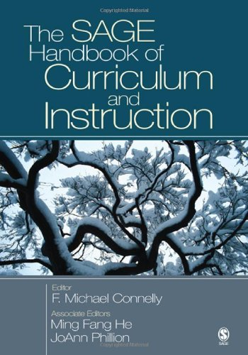 SAGE Handbook of Curriculum and Instruction   2008 edition cover