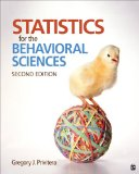 Statistics for the Behavioral Sciences  2nd 2015 edition cover
