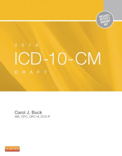 ICD-10-CM 2014 Draft Edition:   2013 edition cover