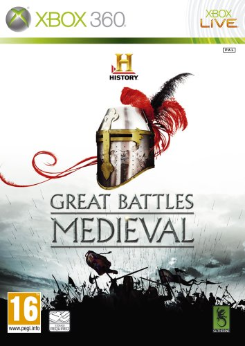 History Great Battles: Medieval Xbox 360 artwork