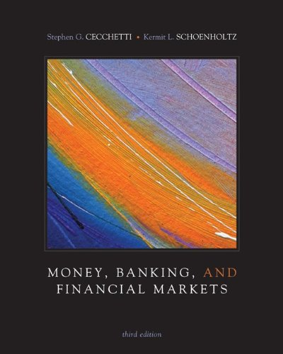 Money, Banking and Financial Markets  3rd 2011 edition cover
