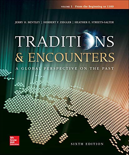Cover art for Traditions & Encounters, Volume 1: From the Beginning to 1500, 6th Edition