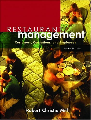 Restaurant Management Customers, Operations, and Employees 3rd 2007 (Revised) edition cover