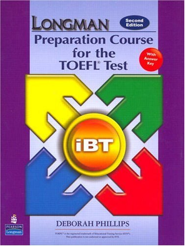Longman Preparation Course for the TOEFL Test  2nd 2007 edition cover
