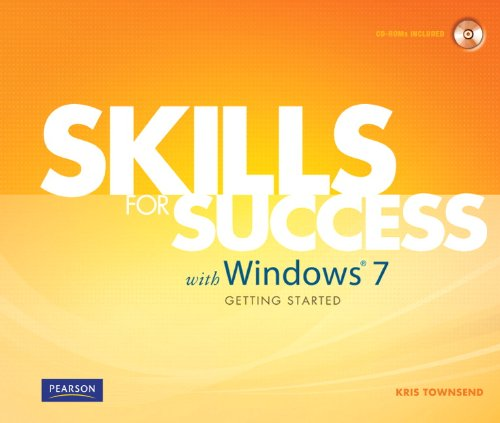 Skills for Success with Windows 7 Getting Started   2011 9780135112908 Front Cover