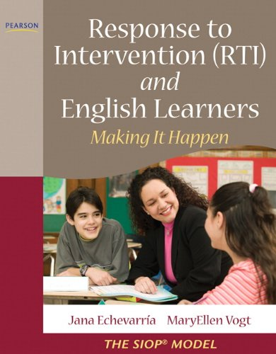 Response to Intervention (RTI) and English Learners Making It Happen  2011 edition cover