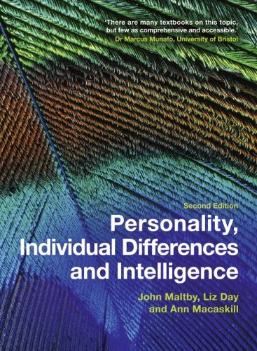 Personality, Individual Differences and Intelligence  2nd 2010 9780273722908 Front Cover