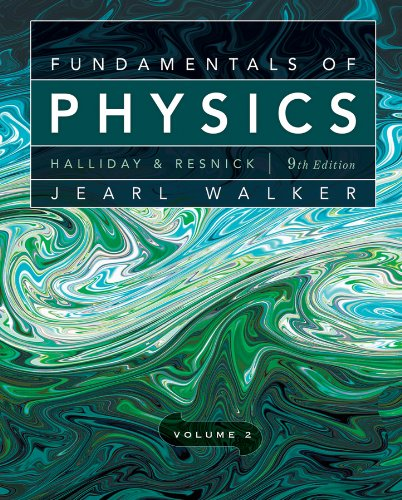 Fundamentals of Physics - Chapters 21-44  9th 2011 edition cover