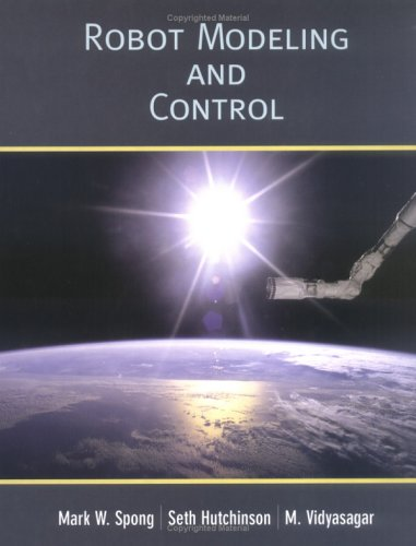 Robot Modeling and Control   2006 edition cover