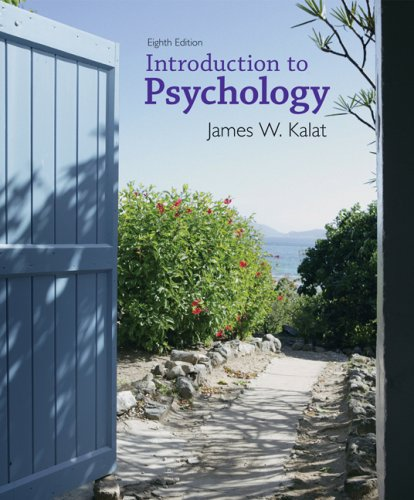 Introduction to Psychology  8th 2008 (Revised) 9780495102908 Front Cover