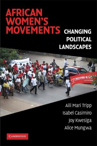 African Women's Movements Transforming Political Landscapes  2009 edition cover