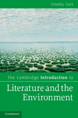 Cambridge Introduction to Literature and the Environment   2010 edition cover