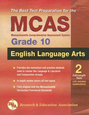 MCAS English Language Arts  N/A 9780738601908 Front Cover
