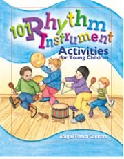 101 Rhythm Instrument Activities For Young Children  2004 edition cover