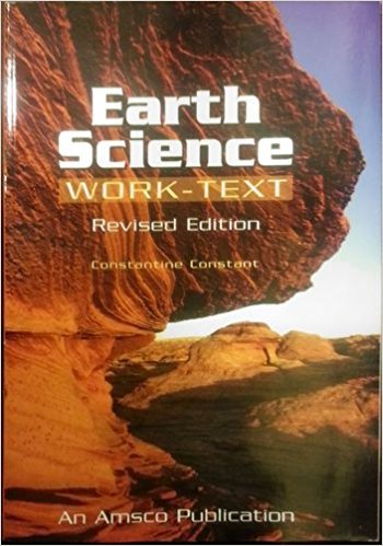 Earth Science Work-Text  2003 edition cover